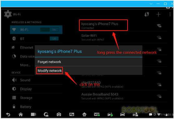 im608 modify network