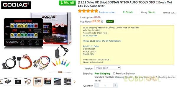 godiag gt100 price