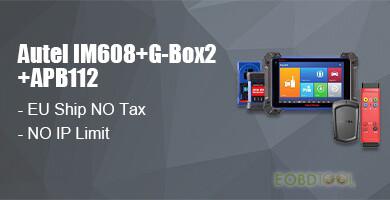 autel im608+g-box2+apb112