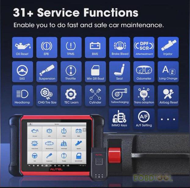 autel mk906bt functions