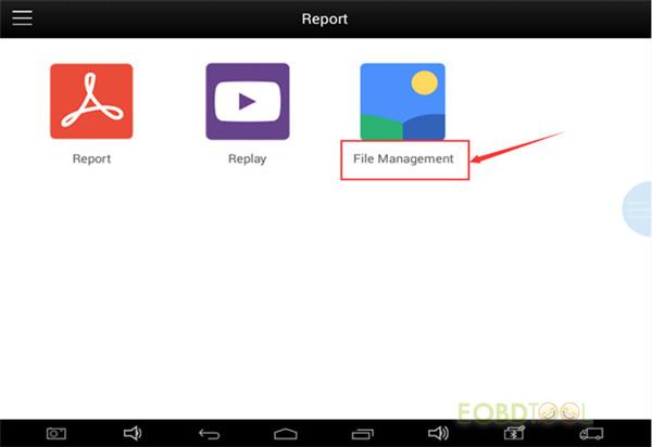 xtool pad2 File Management