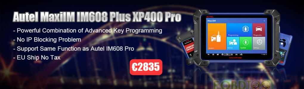 Autel IM608 XP400