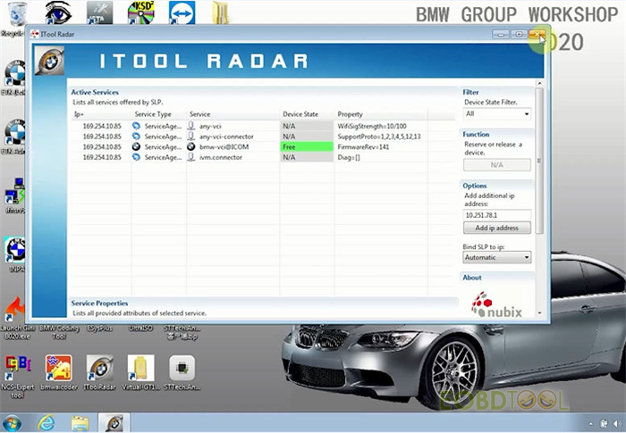 ITOOL Radar software