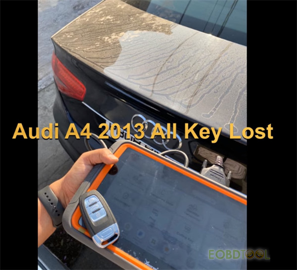 audi all key lost