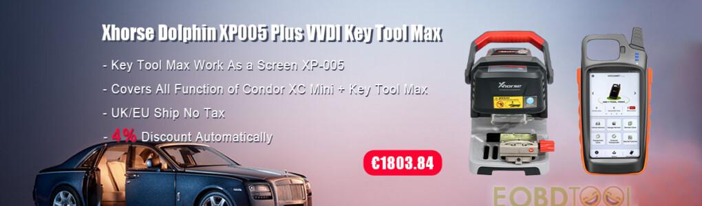 Xhorse XP005+VVDI Key Tool Max