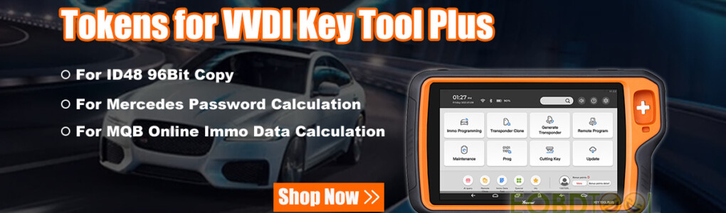 vvdi key tool plus tokens