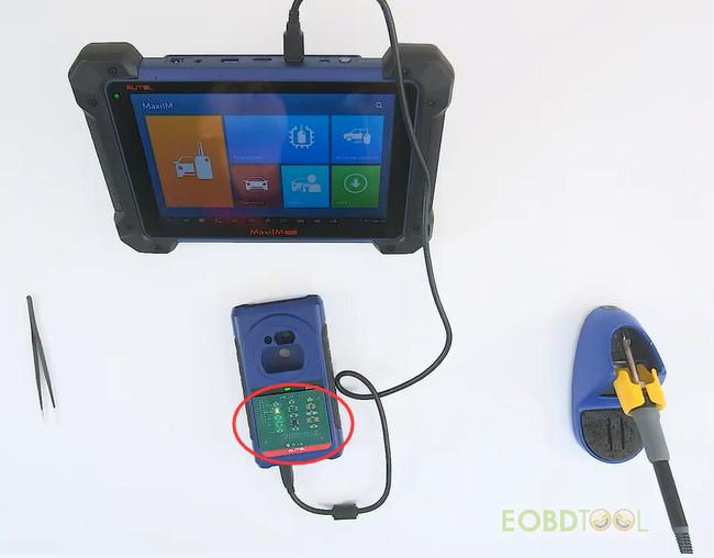 Autel IM608 connect xp400pro