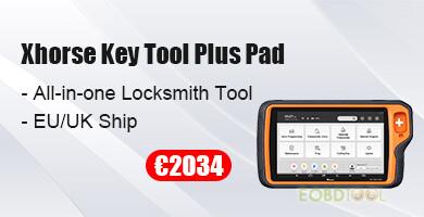 xhorse key tool plus pad