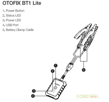 OTOFIX BT1 Lite display