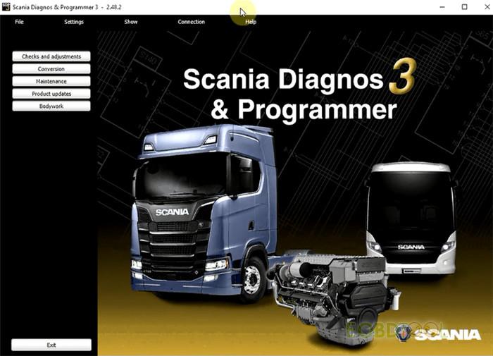scania diagnos 3 & programmer
