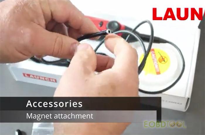 Magnet attachment and VSP-600 connection diagram