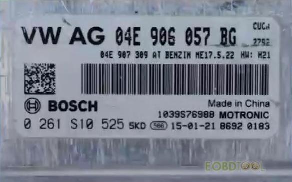 BOSCH engine module