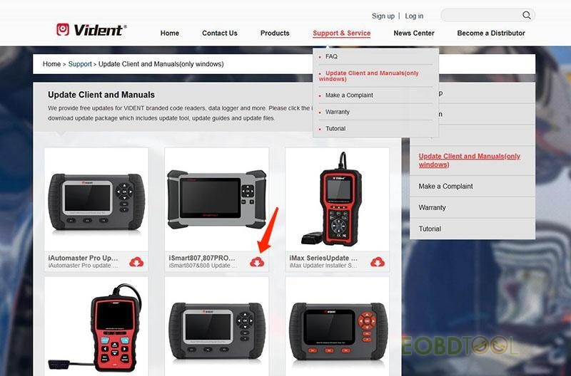 iSmart 807 Pro Multi-application Service Tool